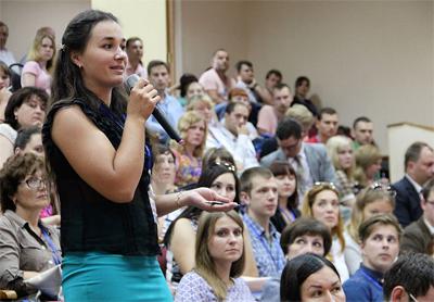 знакомство с активистами организаторами молодежи